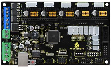 Ks0282 Keyestudio 3d Mks Gen V1 4 Printer Motherboard Control Board Black Environmental Protection Keyestudio Wiki