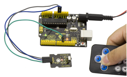 Ks0026 keyestudio Digital IR Receiver Module - Keyestudio Wiki