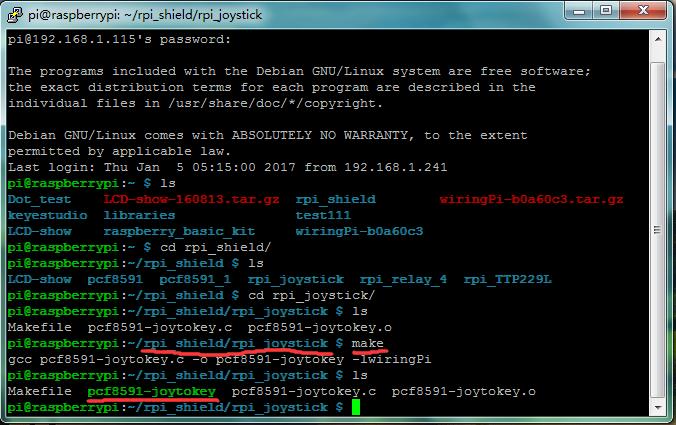 KS0211 keyestudio RPI JoyStick Shield - Keyestudio Wiki