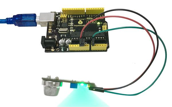 Ks0047 keyestudio MQ135 Air Quality Sensor - Keyestudio Wiki