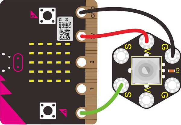 Ks0479 Keyestudio Micro Bit Honeycomb Rotary Potentiometer