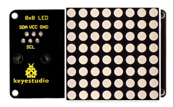 EASY 플러그 8x8 LED 매트릭스 모듈 -180 ° 인터페이스 / EASY plug 8x8 LED Matrix Module  180° Interface