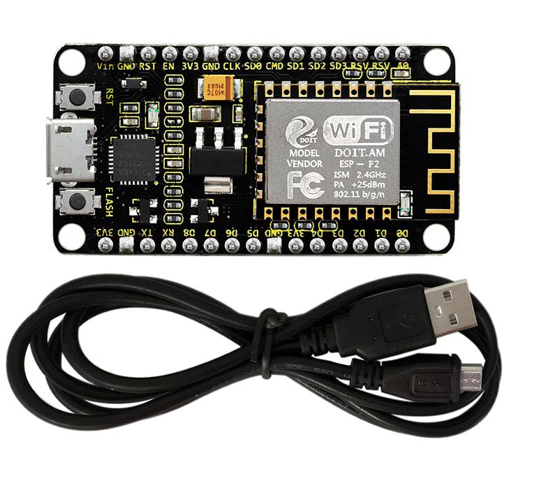 keyestudio ESP8266 WiFi 모듈 (검정색 및 친환경) / keyestudio ESP8266  WiFi  Module (Black and Ecofriendly)