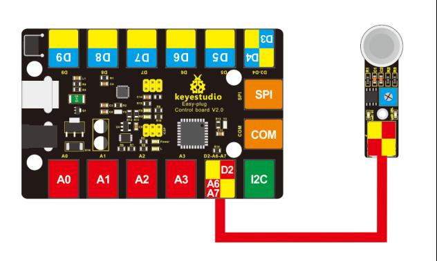 Ks0133 keyestudio EASY plug MQ135 Air Quality Sensor - Keyestudio Wiki