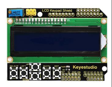 Arduino lcd keypad shield (sku: dfr0009) dfrobot electronic.