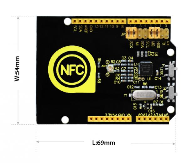 Ks0259 keyestudio PN532 NFC/RFID Controller Shield