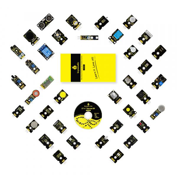 Ks0068 keyestudio 37 in 1 Sensor Kit for Arduino Starters