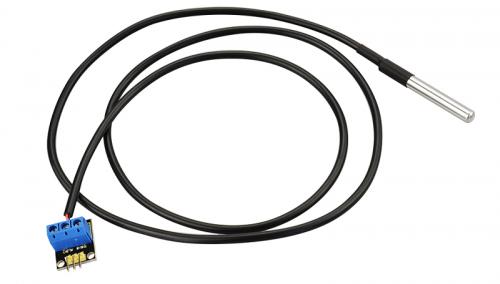 ks0316 keyestudio ds18b20 temperature detector sensor  black and eco-friendly