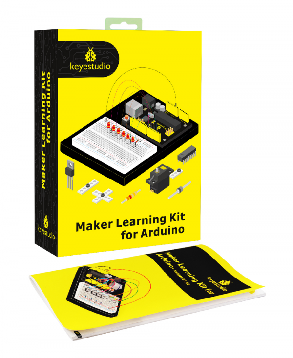 Ks0080(81, 82)keyestudio Maker Learning Kit for Arduino