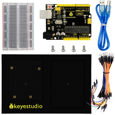 Tremendous Ks0337 Keyestudio Uno Board 400 Tie Points Breadboard Chassis Wiring Cloud Hisonuggs Outletorg