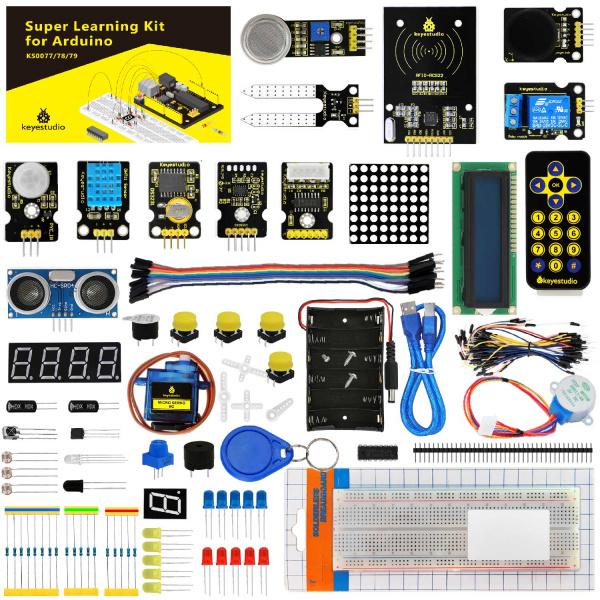 Ks0077(78, 79) keyestudio Super Learning Kit for Arduino