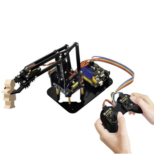 Ks0198 Keyestudio 4dof Robot Mechanical Arm Kit For Arduino Diy Keyestudio Wiki