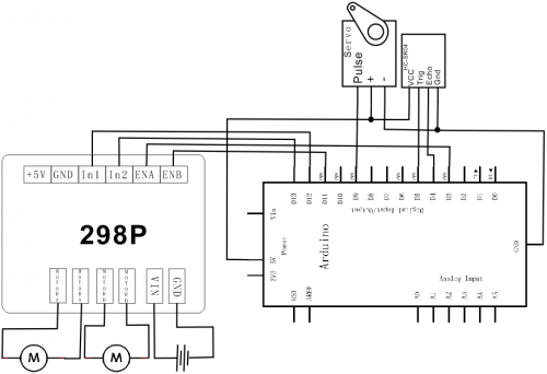 schematic and connection diagram