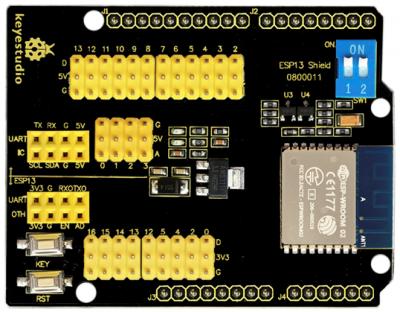 Ks0366 Keyestudio ESP13 Shield Serial Port Module - Keyestudio Wiki