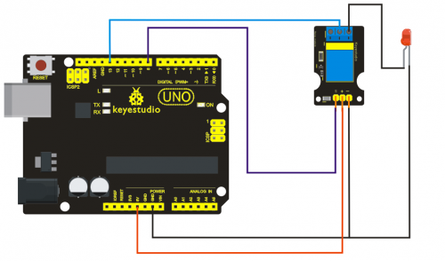 Ks0068 keyestudio 37 in 1 sensor kit for arduino starters connection diagram this module adopts the iic test method so we only need to connect sda to arduino a4 scl to a5 to vcc and to gnd as ccuart Images